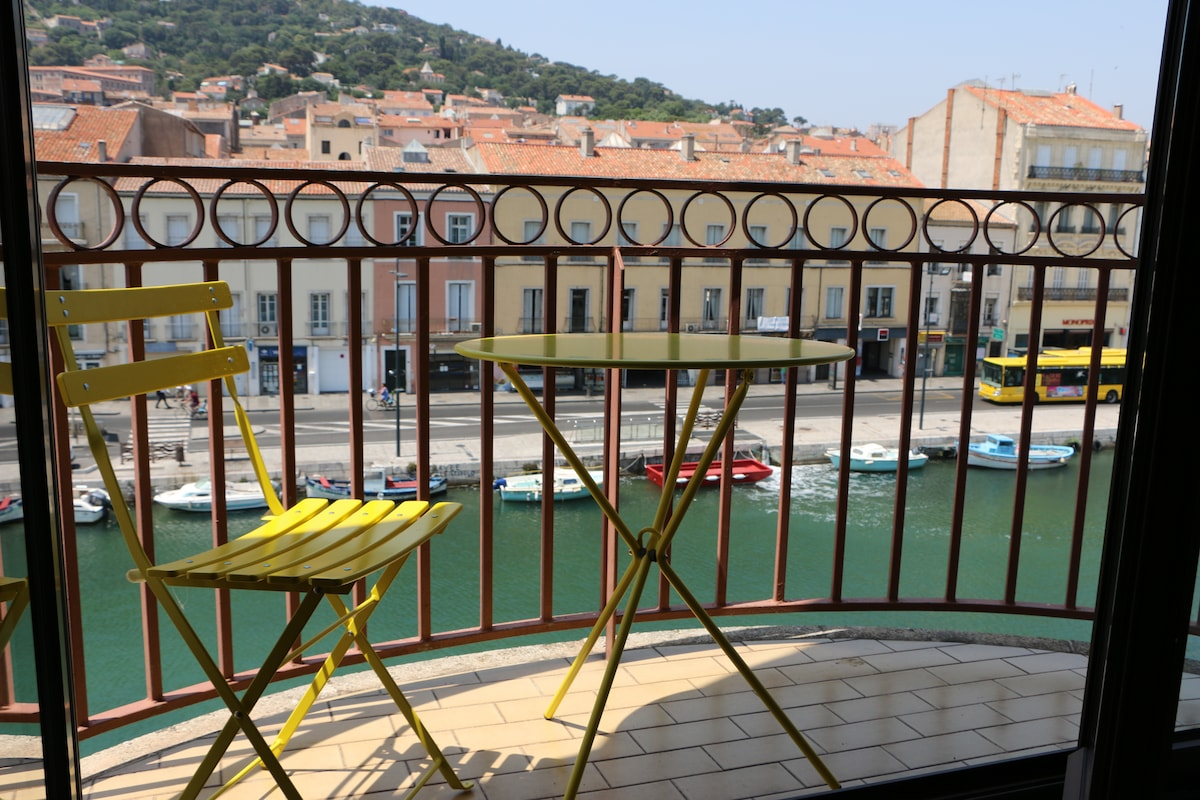 Beau T2 avec balcon sur canal royal