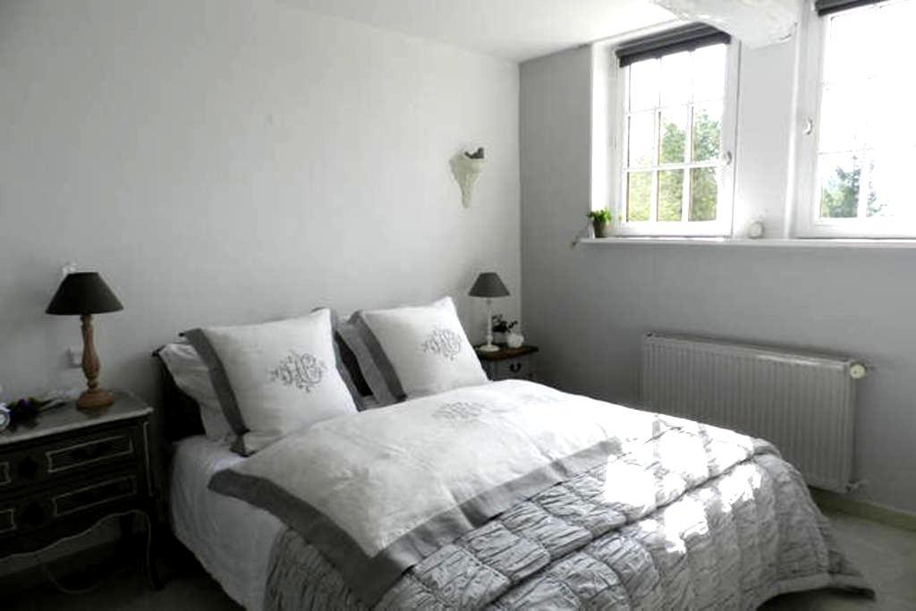 chambres d'hôtes Le Pressoir - Beuvron-en-Auge - Szoba reggelivel