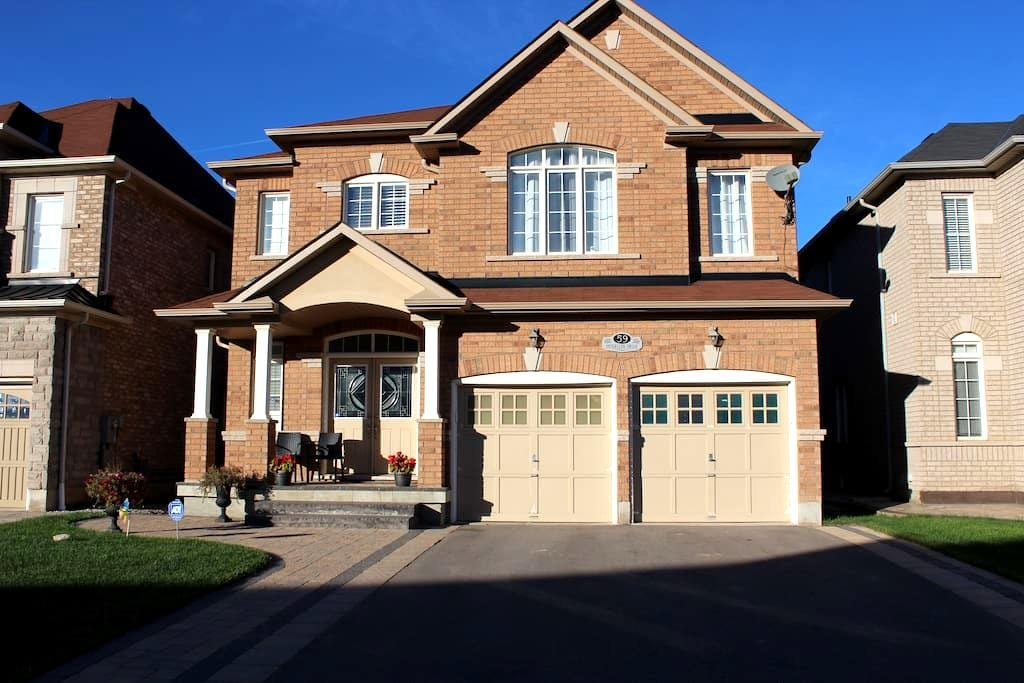 (New) Furnished Private Basement With Two Bedrooms - Brampton - House