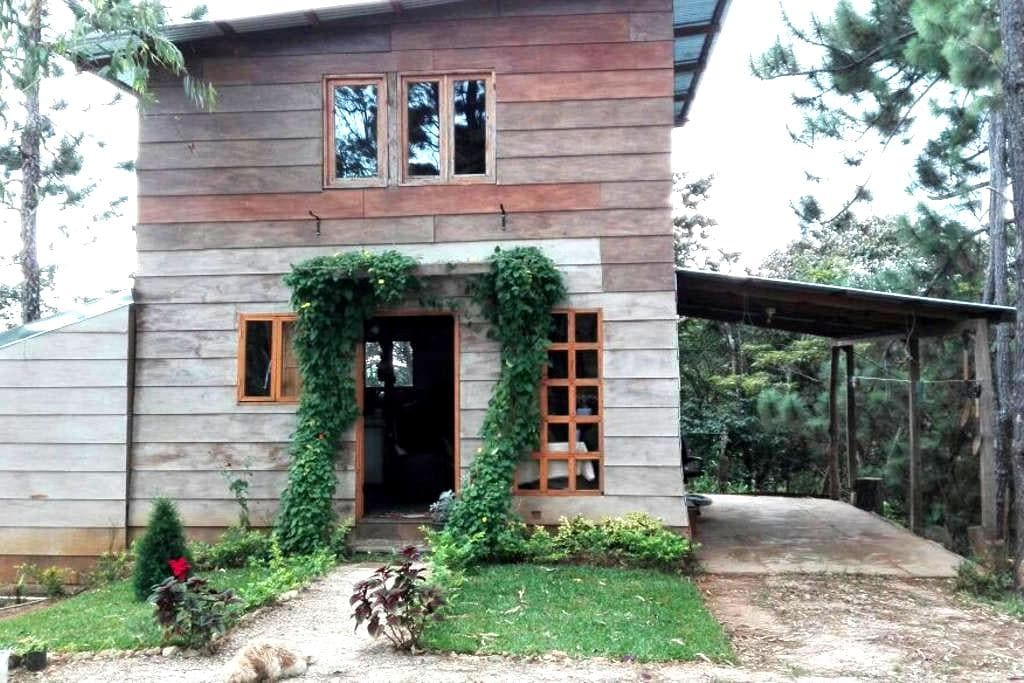 Dormitorio Cabaña con Desayuno - 통나무집