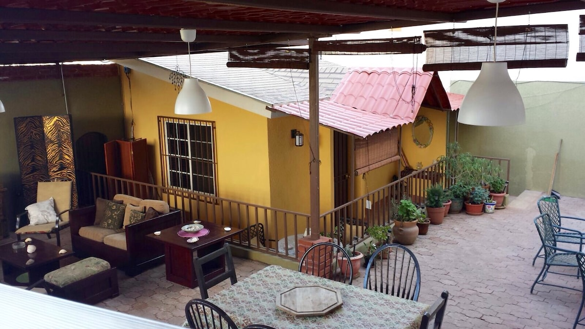 The little & cute Mexican house