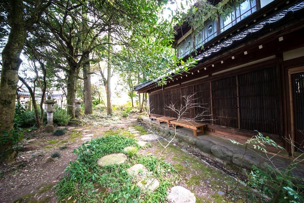 Japanese traditional house (Tatami - Tonami - Haus