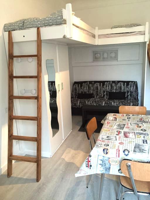 Joli studio refait à neuf dans centre ville - La Bourboule