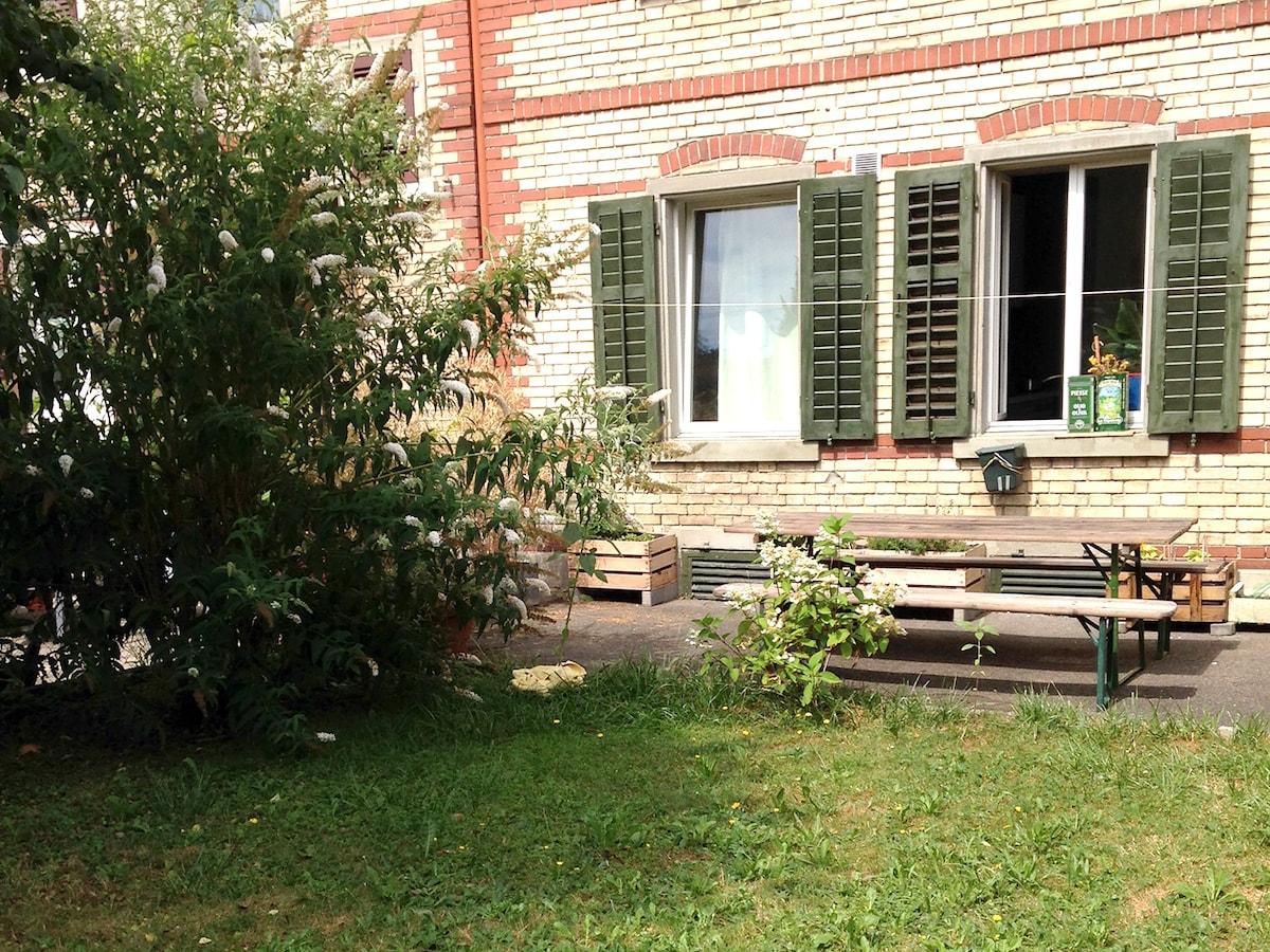 Cozy Apartment with Garden