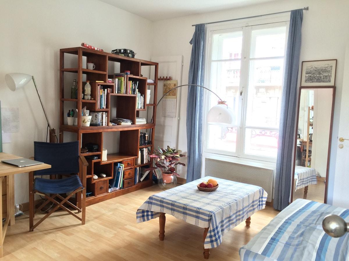 Simple apartment Paris 15e