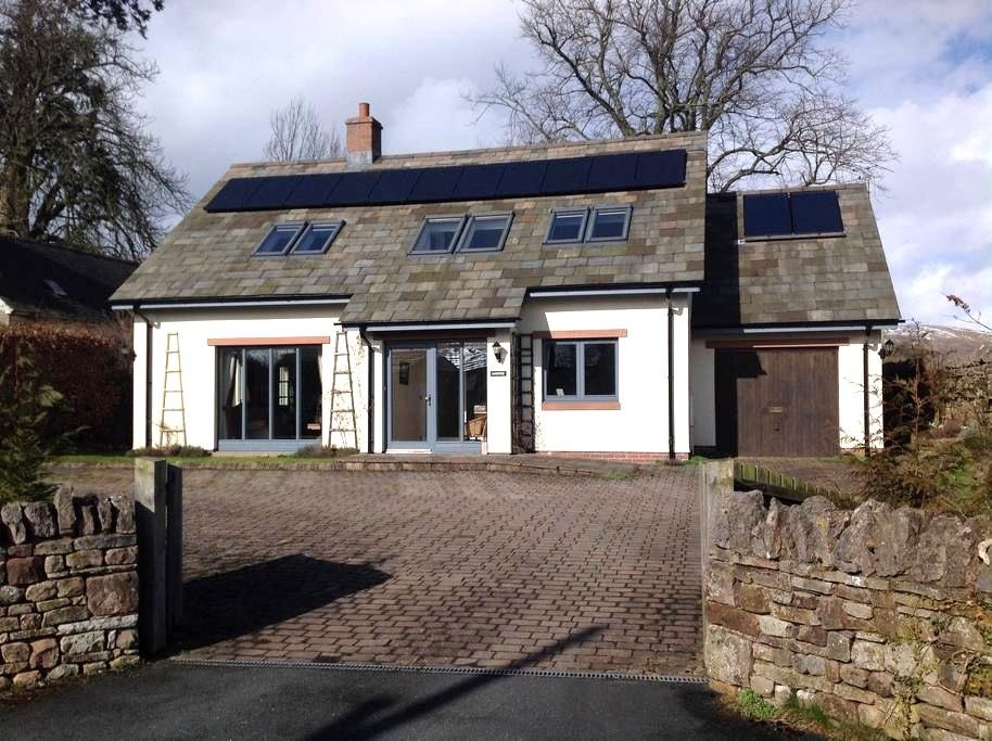 Detached Eco-House in Quiet Hamlet - Brough Sowerby - Casa