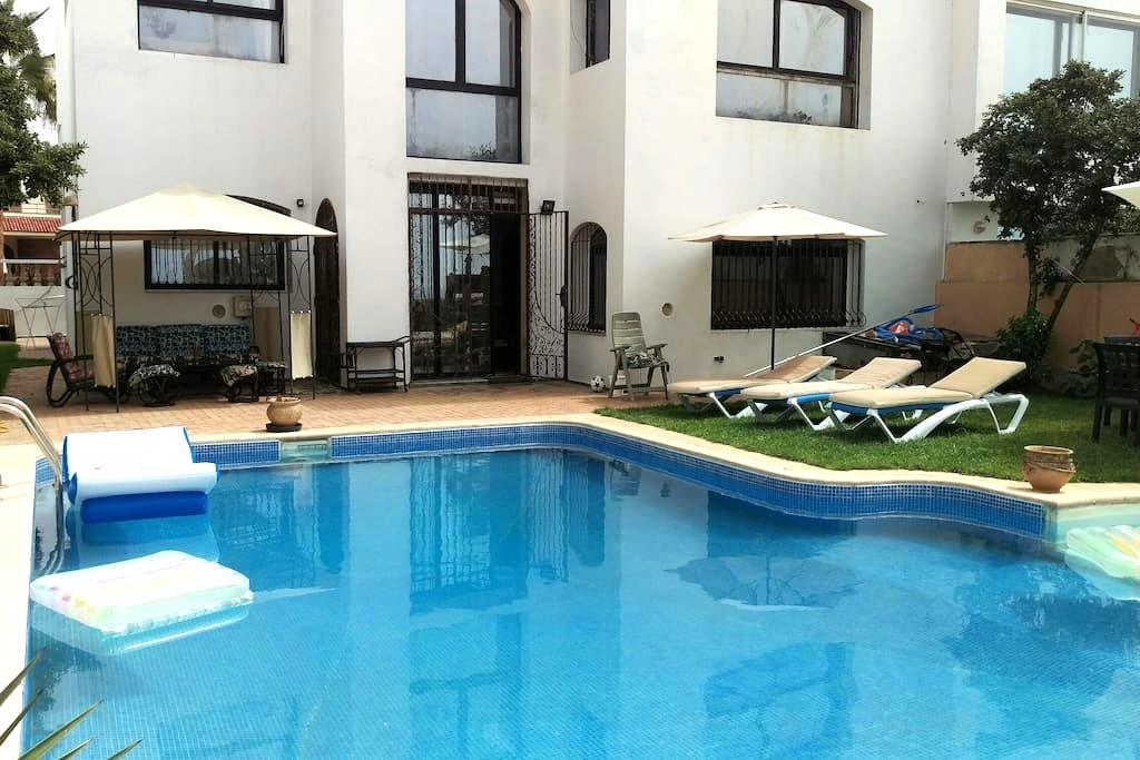 Villa front de mer Harhoura - Temara - Вилла