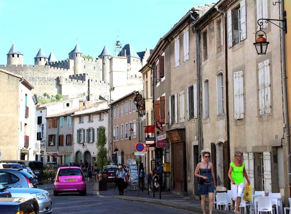 Cocooning au pied de la cité - Carcassonne - Appartement