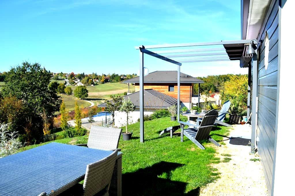 Dordogne, logement au calme, à 2 mn de Périgueux - Champcevinel - บ้าน