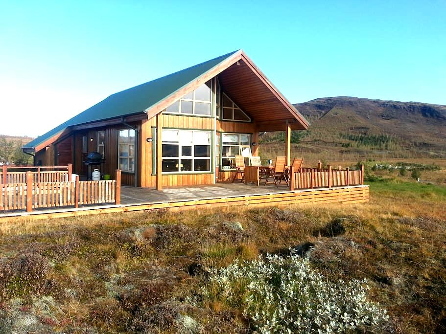 Cottage on Golden circle. - Grímsnes og Grafningshreppur - Talo