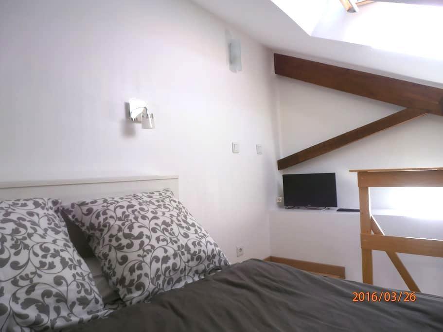 studio central et calme - Ciboure - Appartement