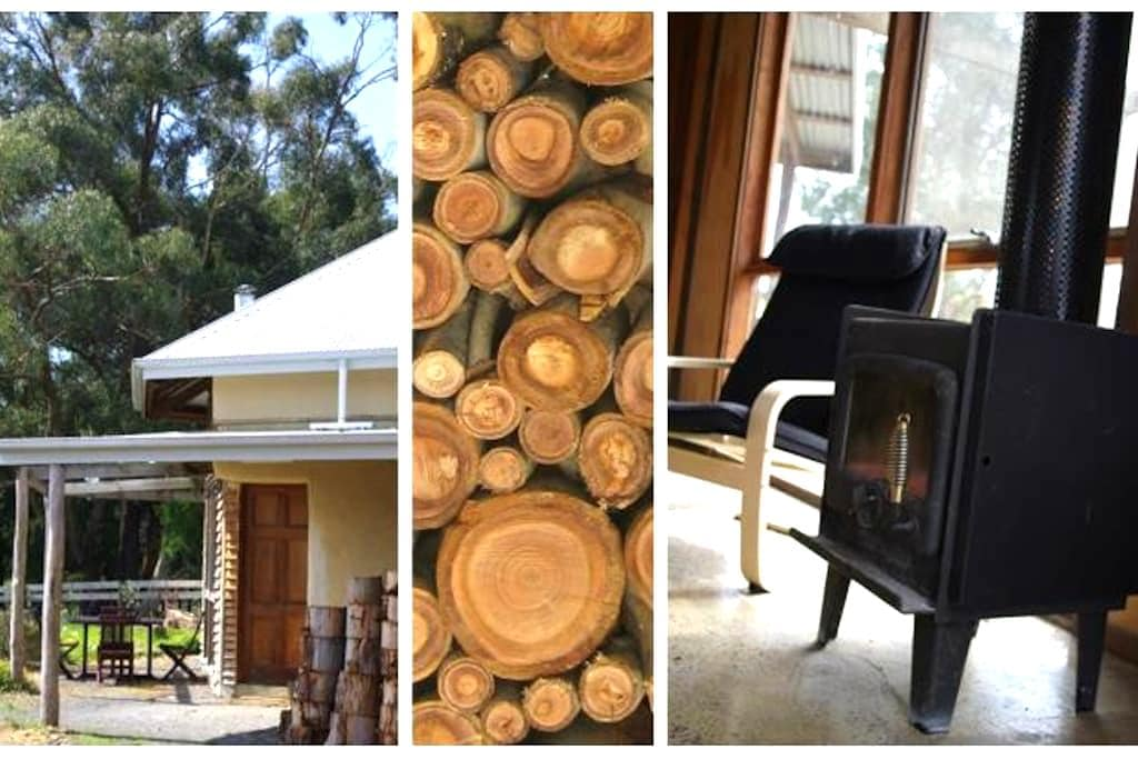 Forrest Strawbale Cottage - Forrest - Casa na Terra