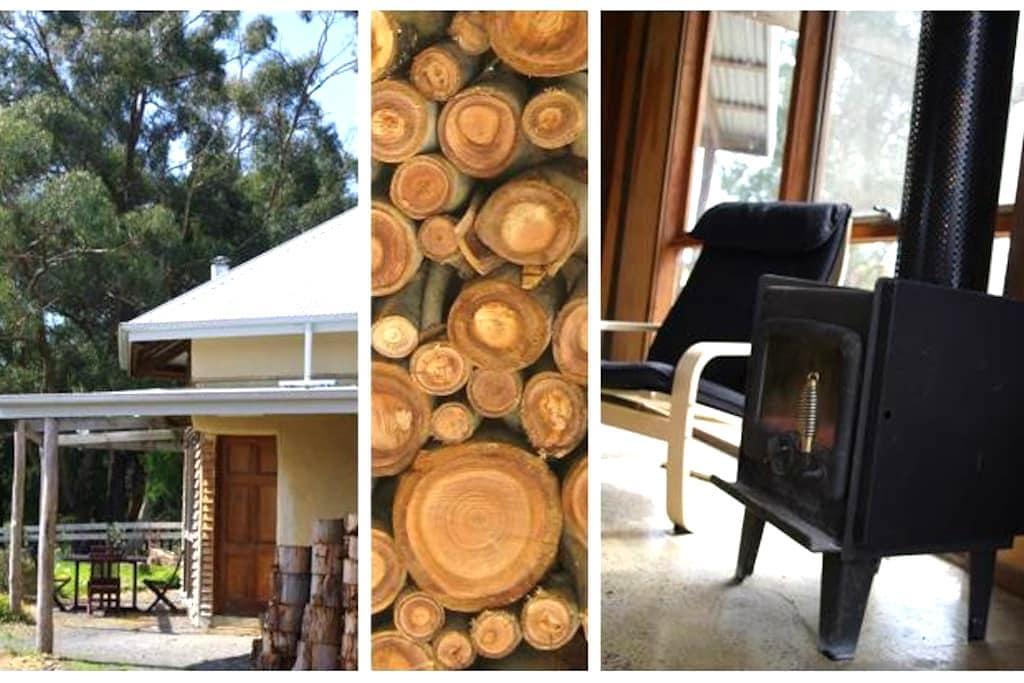 Forrest Strawbale Cottage - Forrest - บ้านดิน