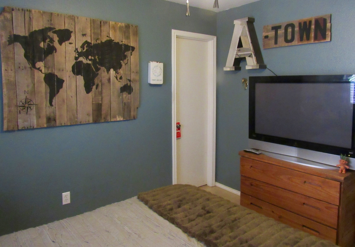Charming A-town Bedroom