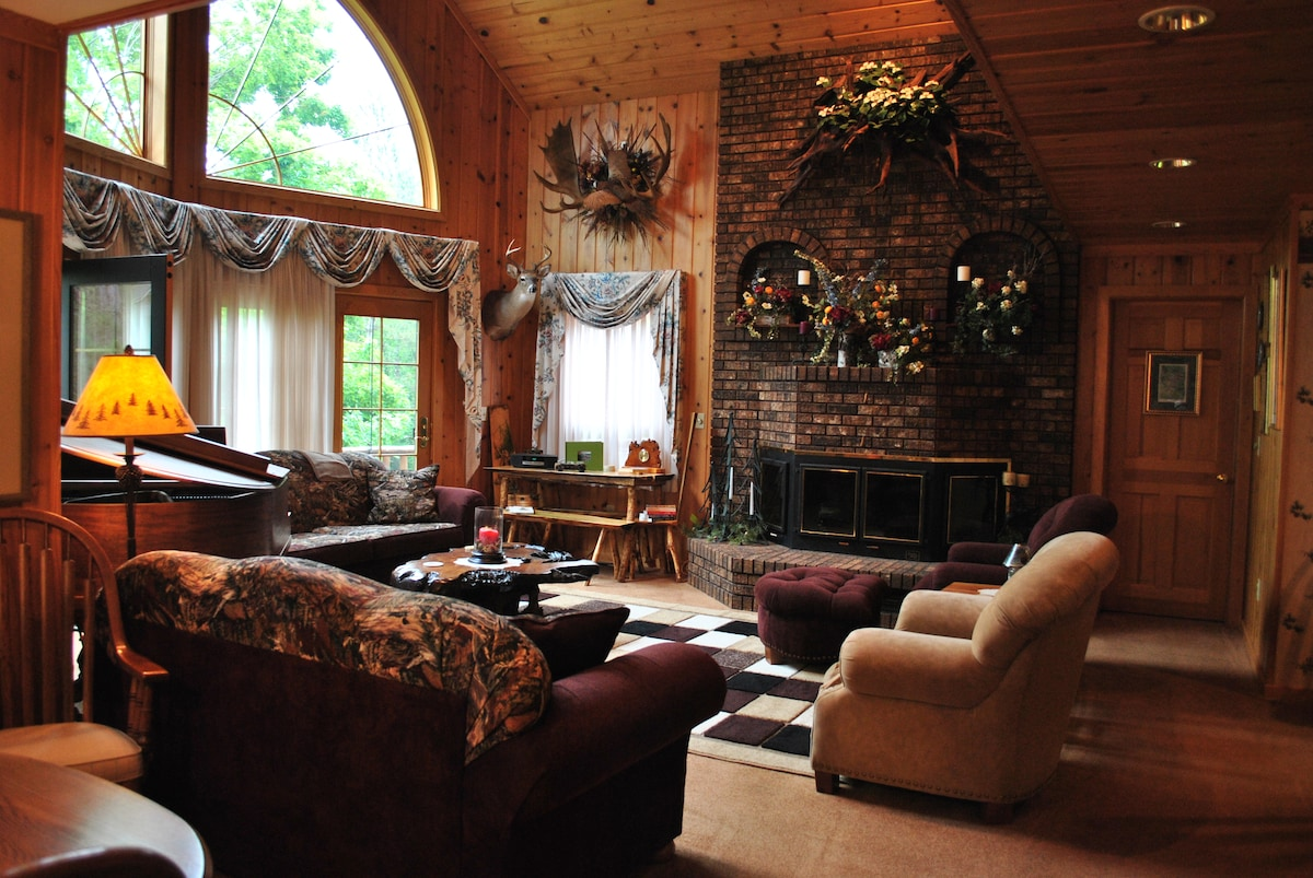 Horton Creek Inn Bu0026B - Bed and breakfasts for Rent in Charlevoix Michigan United States & Horton Creek Inn Bu0026B - Bed and breakfasts for Rent in Charlevoix ...