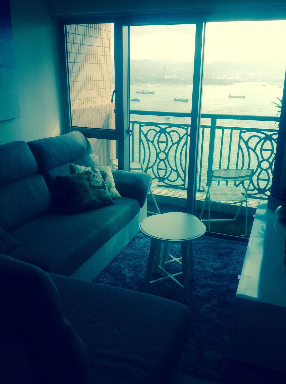 Two bedroom flat with stunning view