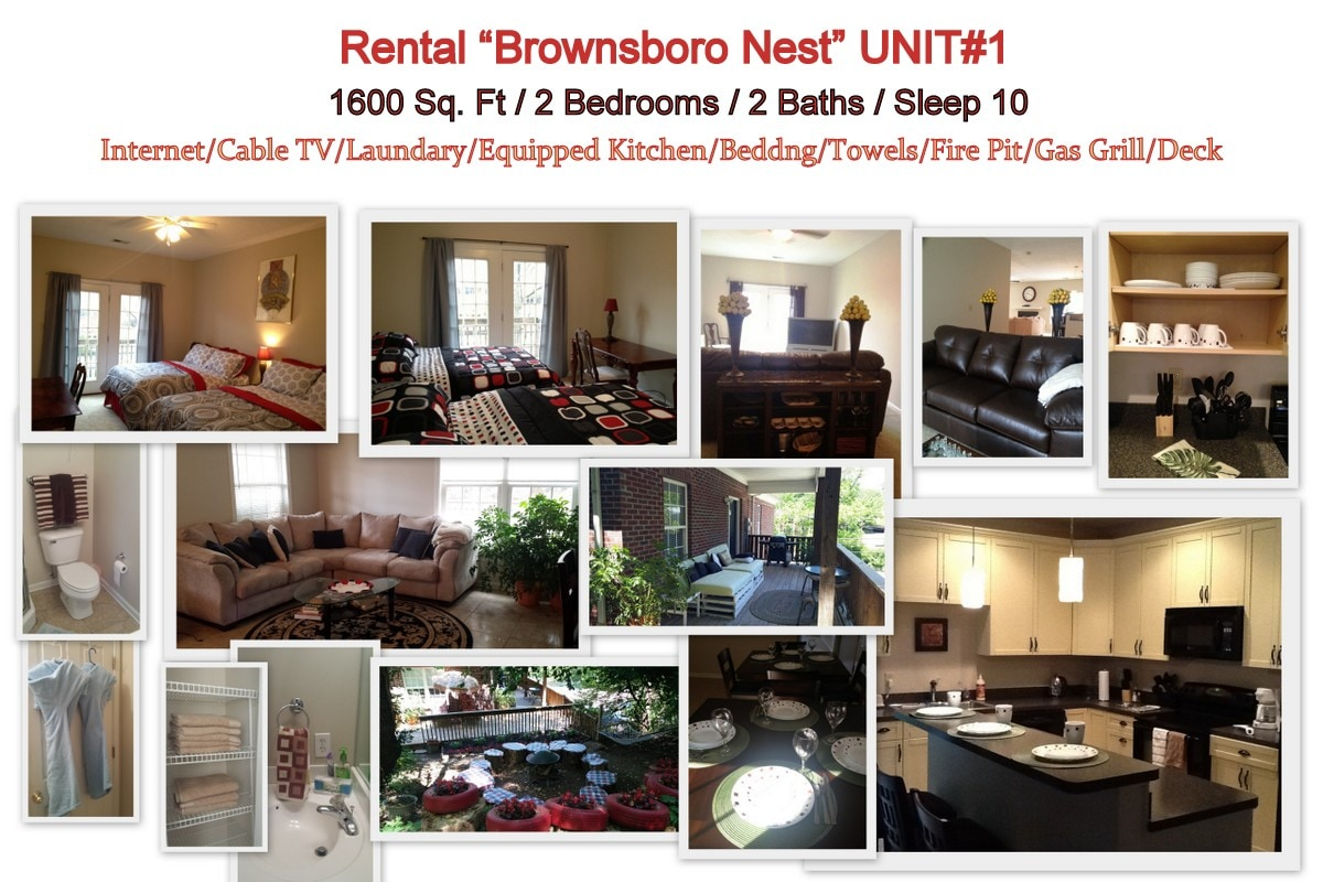 Brownsboro Nest ( Unit#1)
