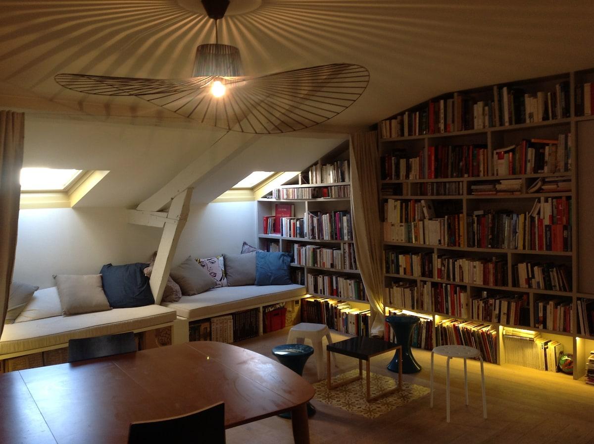 Bel appartement design contemporain