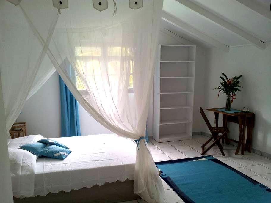 Chambre d'hôtes Bleue à Deshaies - Deshaies