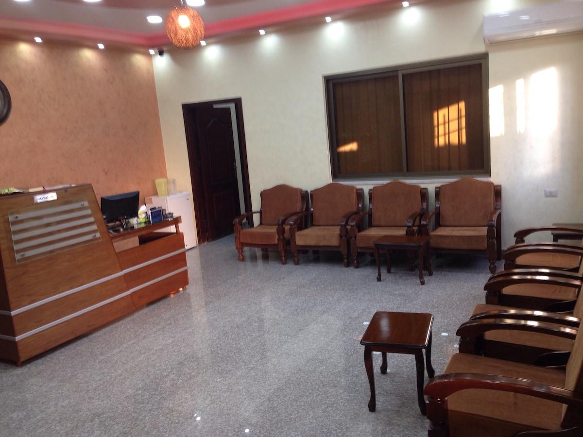 clean high furnished female hostel