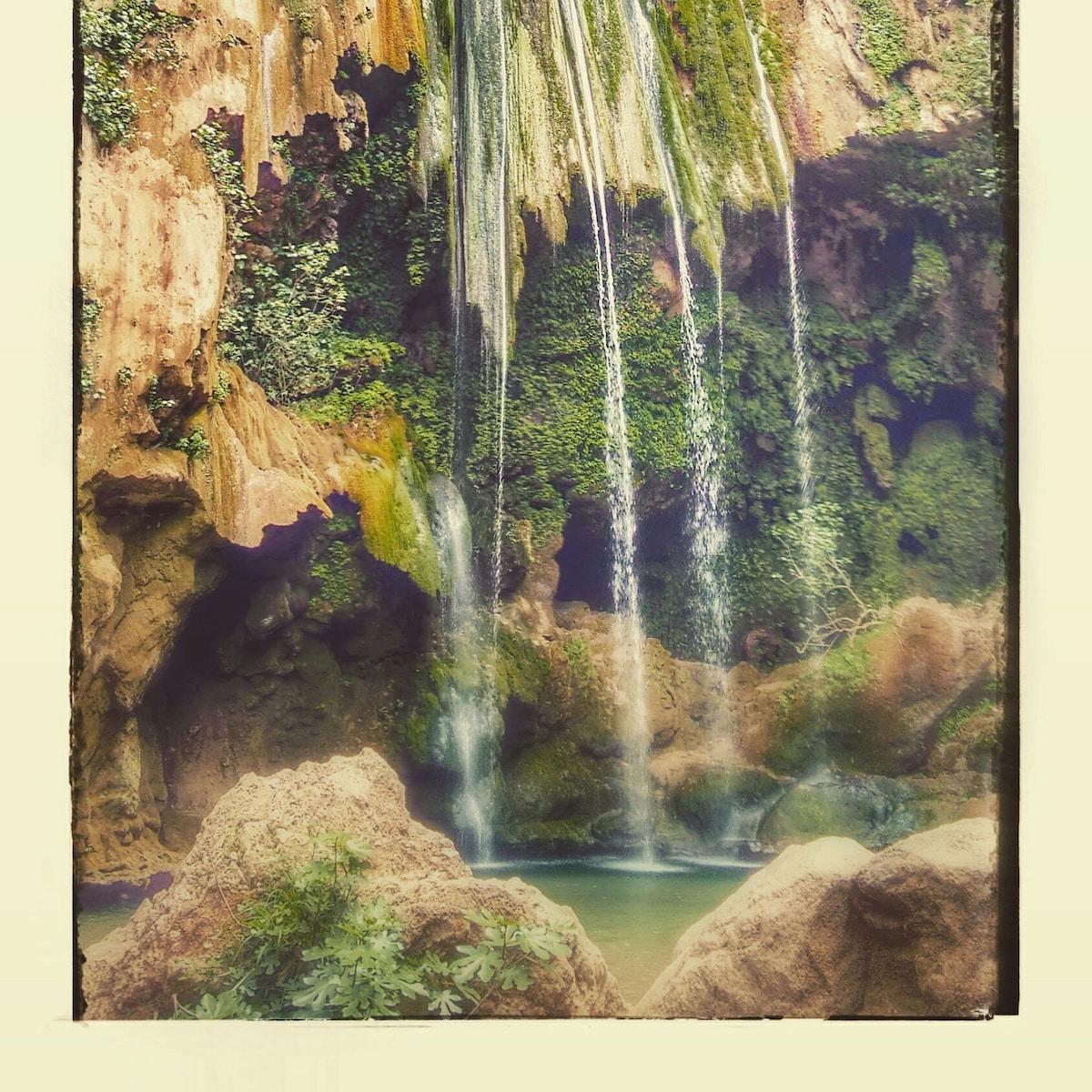 Akshour waterfalls