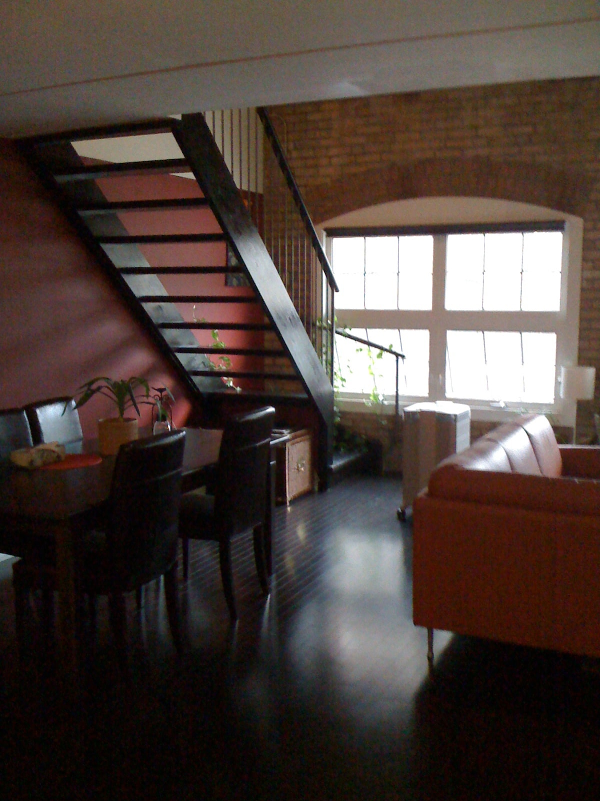 Clean private room in heritage loft
