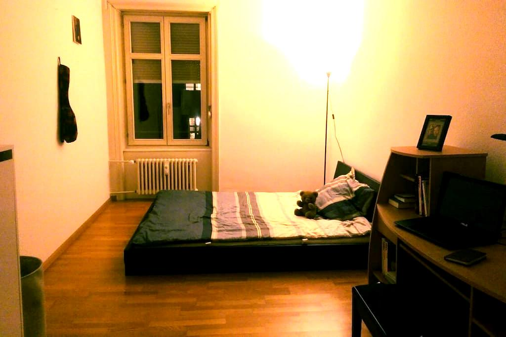 Private room near to Messeplatz! - Bâle - Appartement