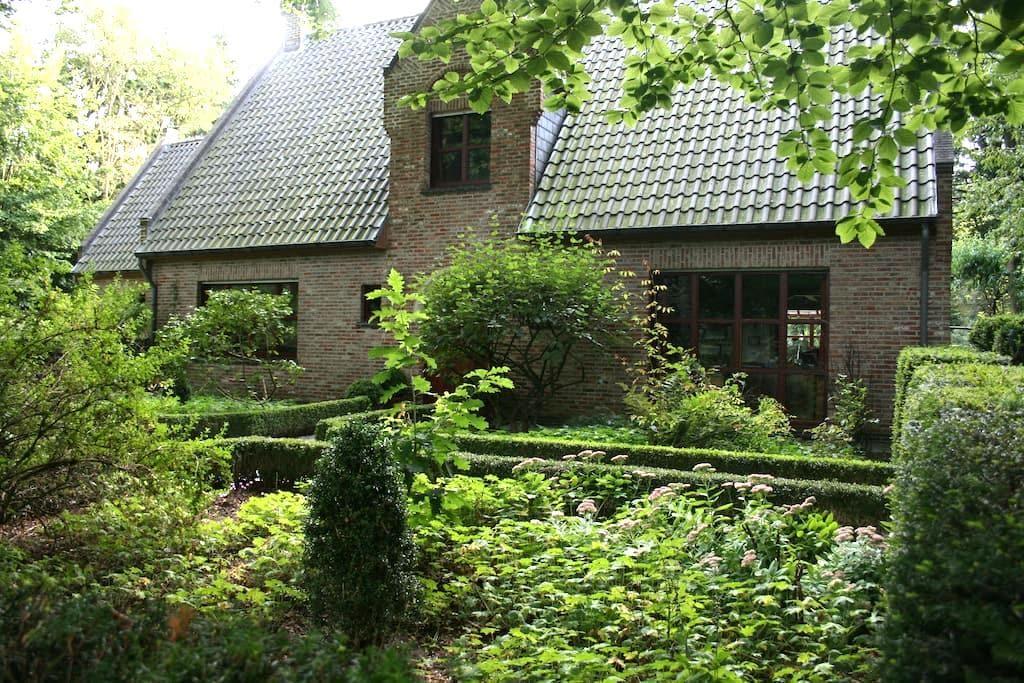 Genieten in het groene Hertsberge - Oostkamp - Apartamento
