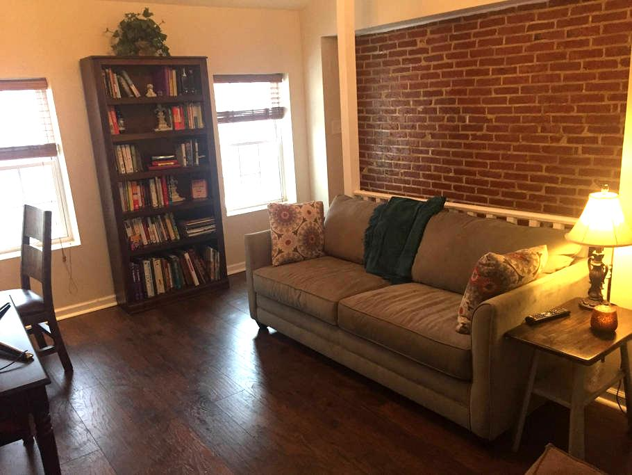 Fells Pt. Charm! Loft-style with Full Privacy - Baltimore