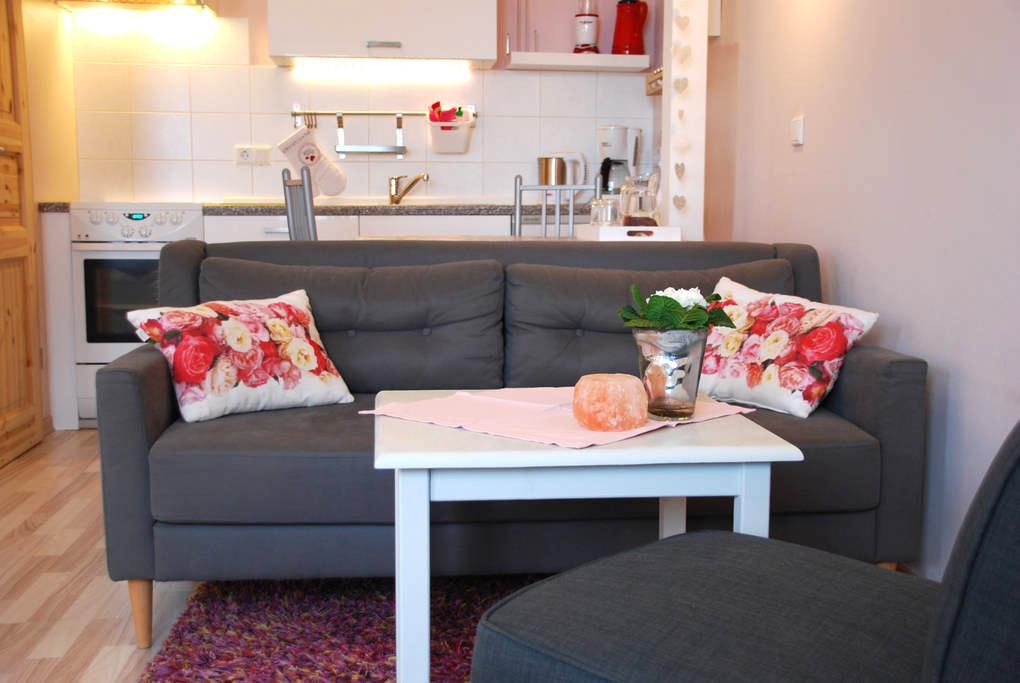 Rosenquarz Appartement für 2 liebe Gäste - Reussenköge - Condominium