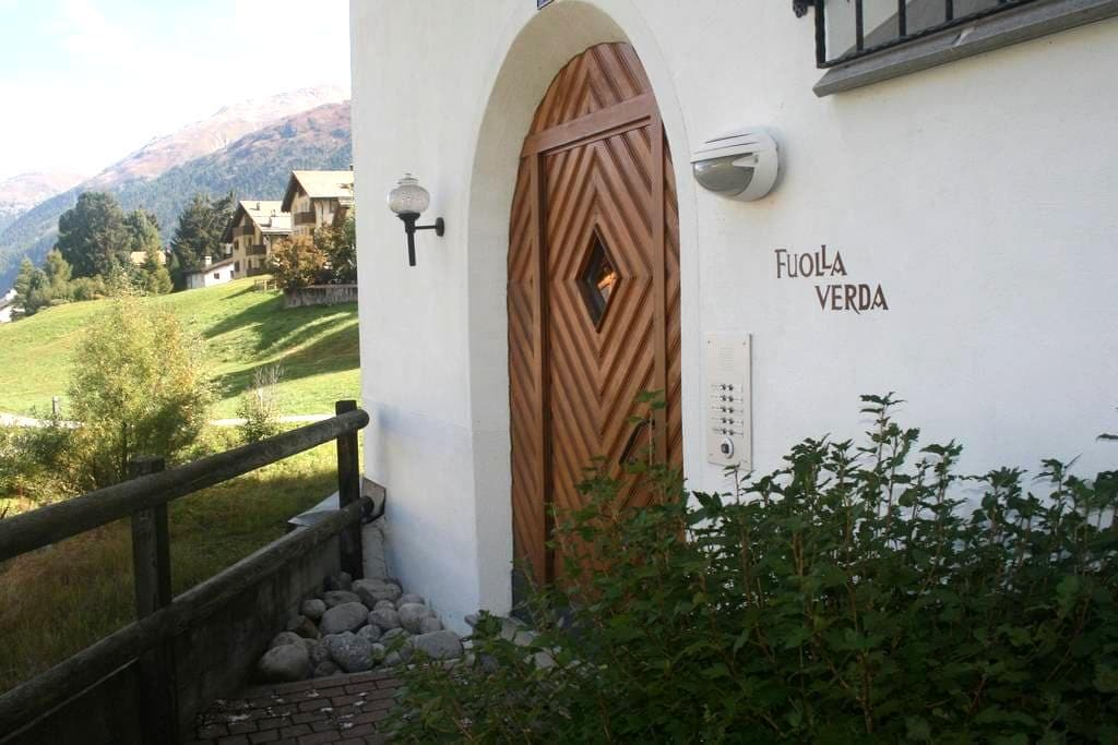 top quality spacious apartment with Stunning View - Celerina/Schlarigna
