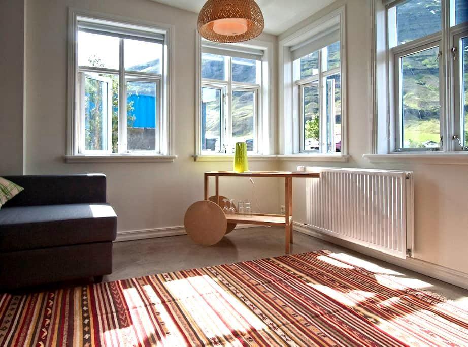 A family room in the old postoffice - Seyðisfjörður