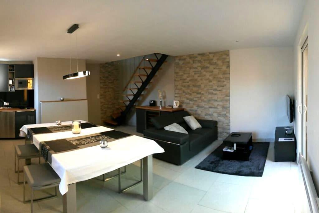 Duplex avec son spa privé au coeur du Luberon - Beaumettes - Appartement