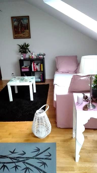 Charming and modern under roof flat in Trelleborg - Trelleborg - Appartement