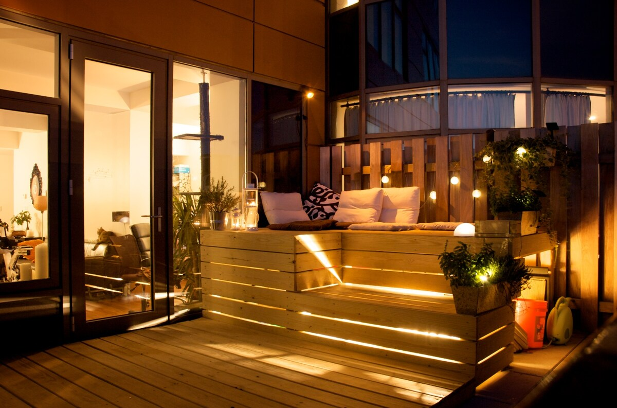 Super sunny fabulous Loft style
