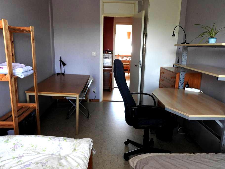 Light violet room - Linköping - Daire