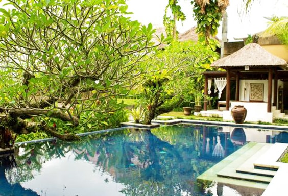A Valley View Villa in Ubud
