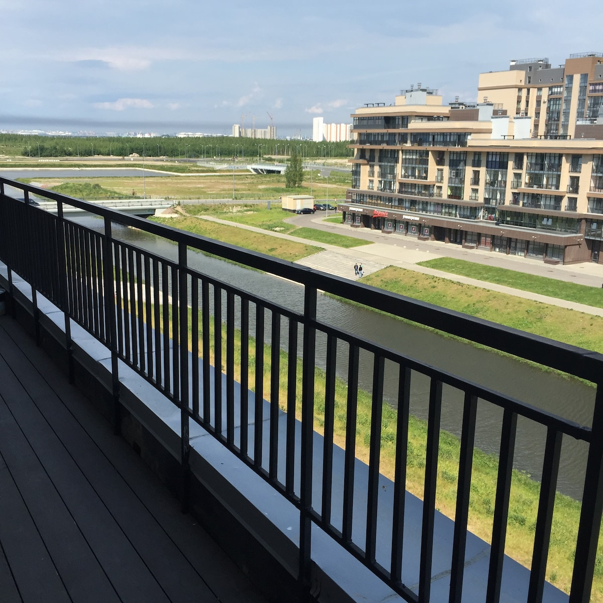 Апартаменты с видом на канал