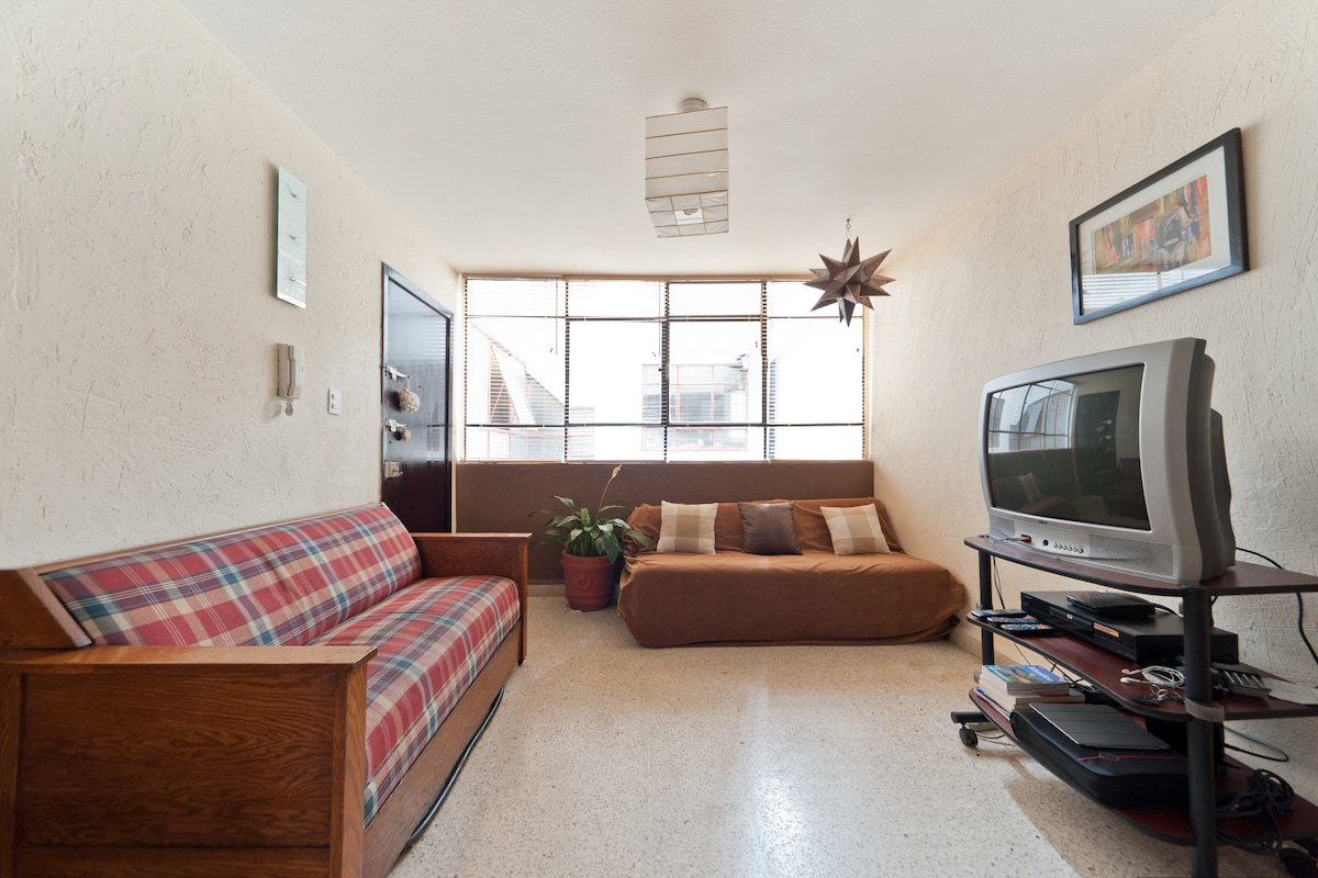 Condesa-Roma, great place to stay!