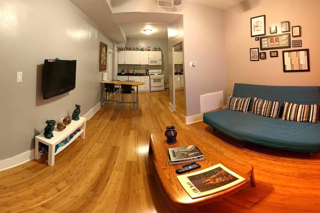 Updated, Convenient, Tidy Flat in Pilsen - Chicago - Apartment