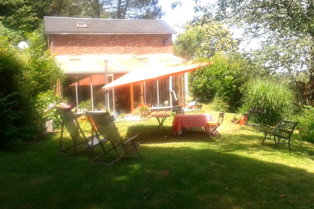 Maison & jardin en Périgord noir - Terrasson-Lavilledieu - Dom