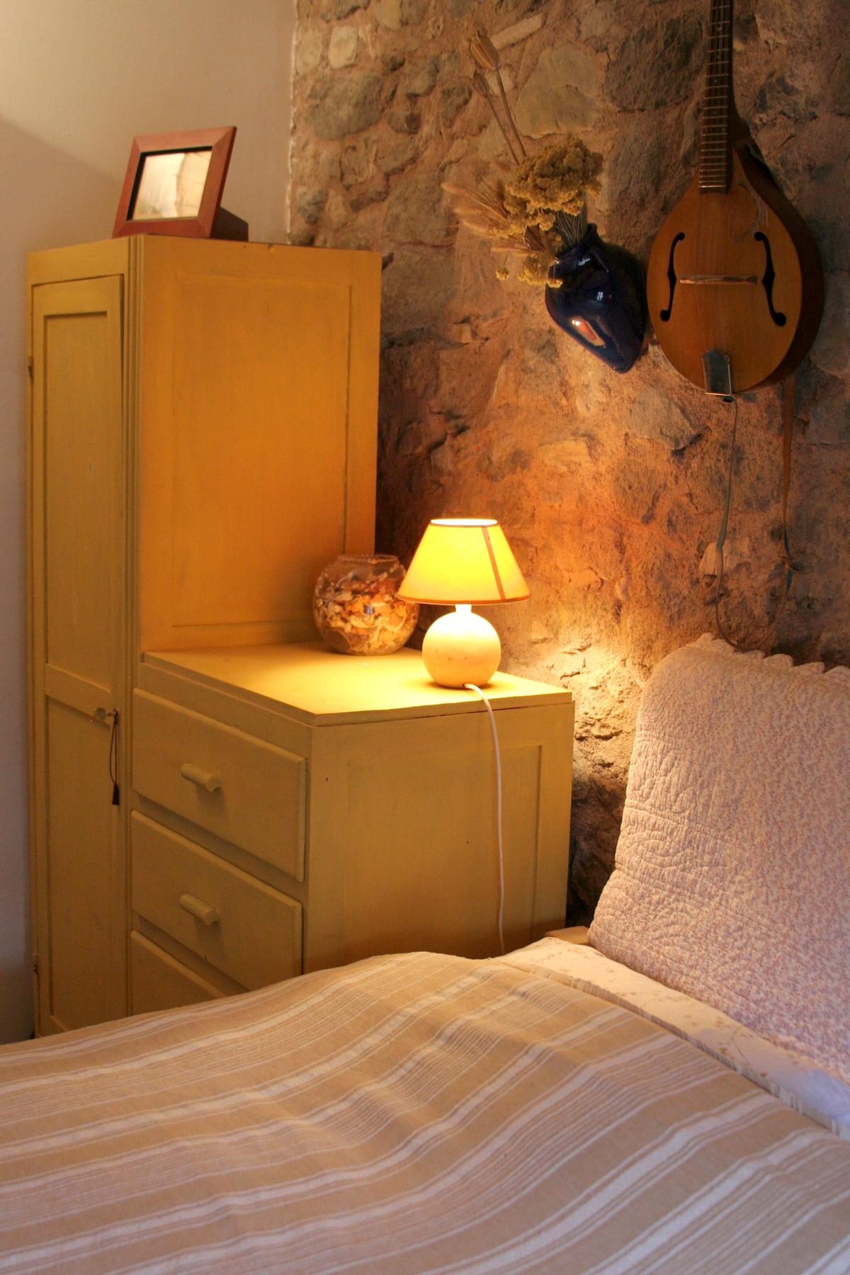 Bedroom 1 with Mandolin