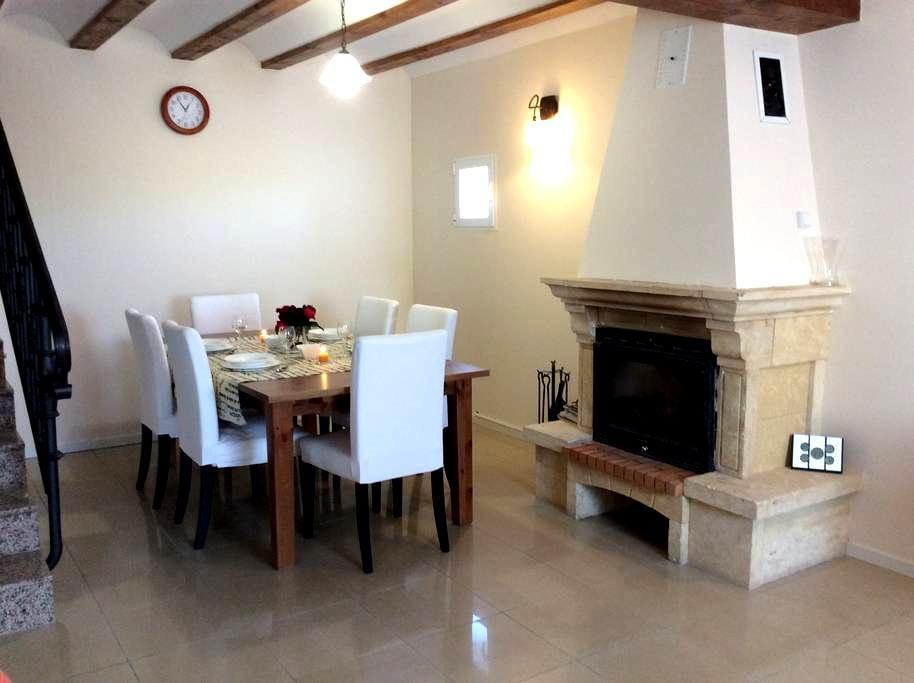 Casa rural de 4 habitaciones - Albelda de Iregua - Huis