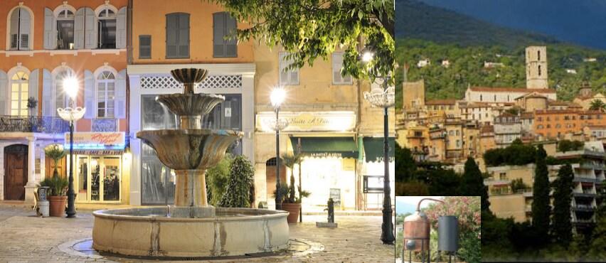 Coeur Grasse ville des parfumeurs