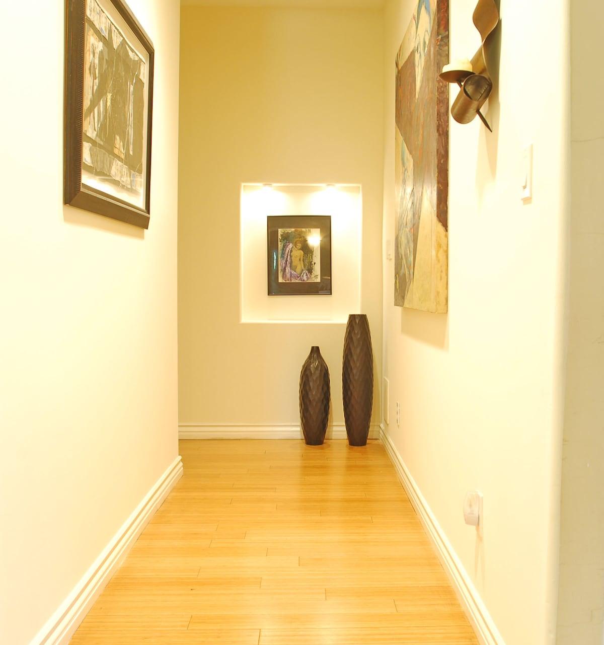Hallway to Master Room
