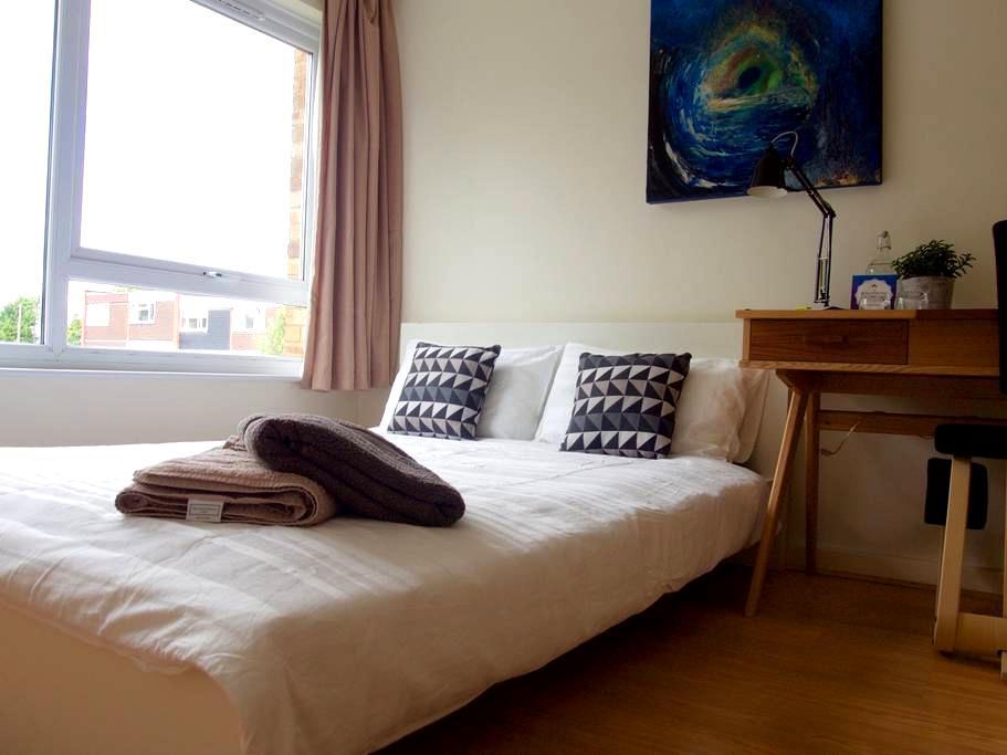 Double Bed in clean, modern flat - London - Apartemen
