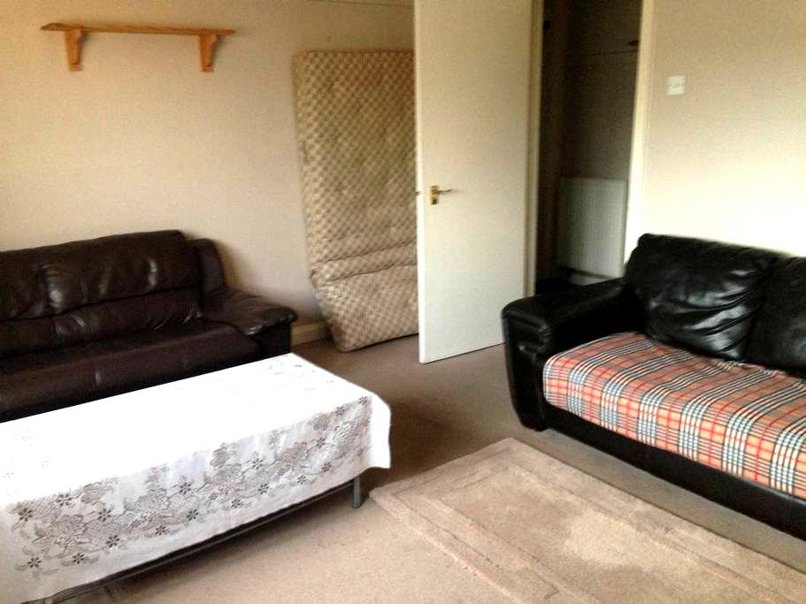 Double bedroom in 2 bedroom flat - Lossiemouth - Daire
