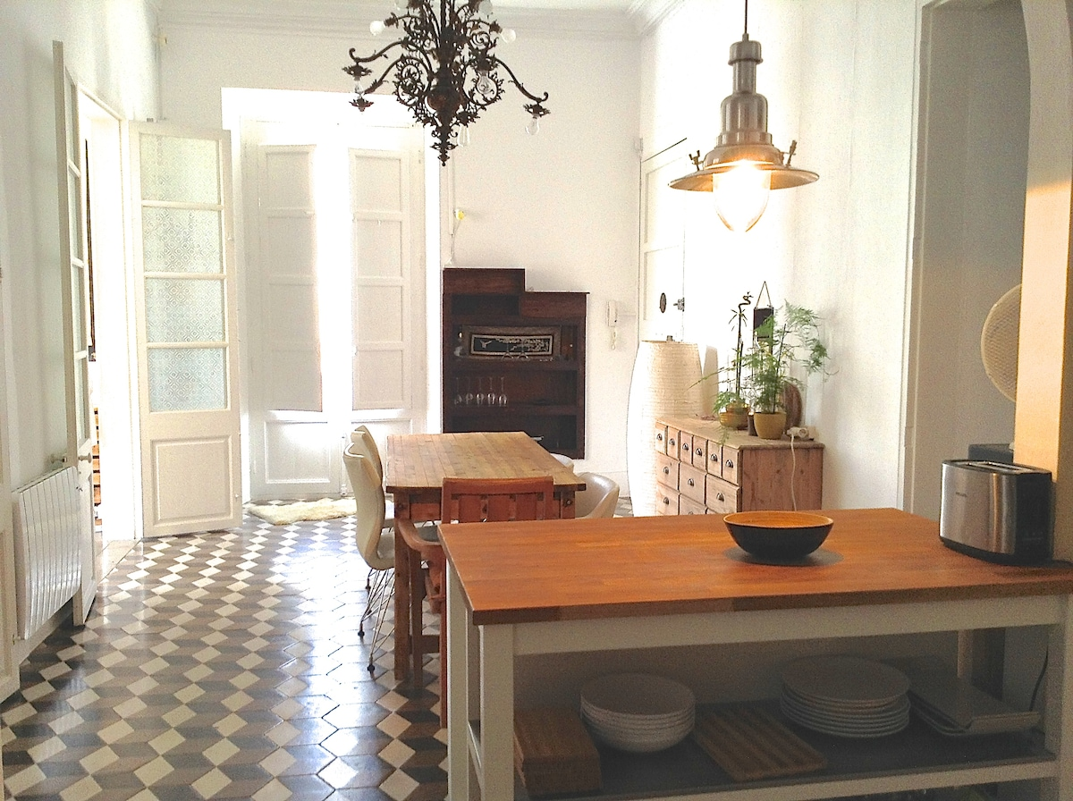 Stylish apartment Ibiza old town