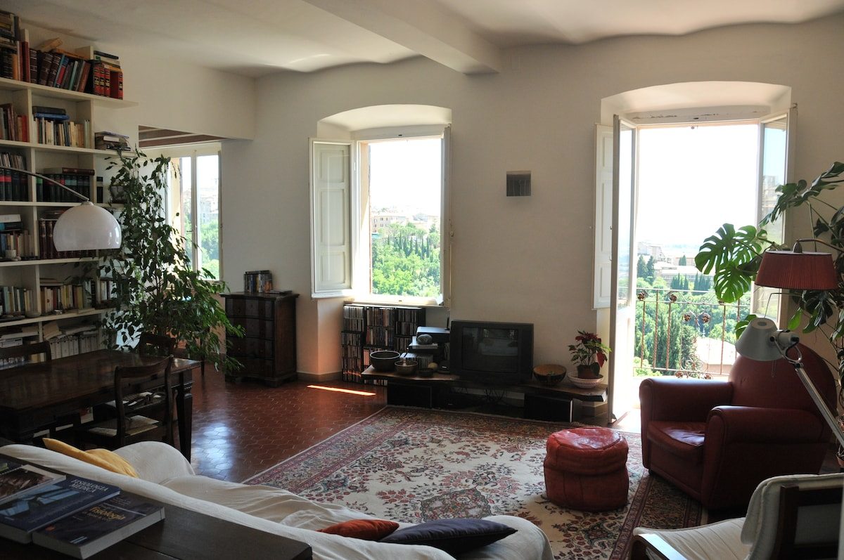 Flat with view in Perugia centre