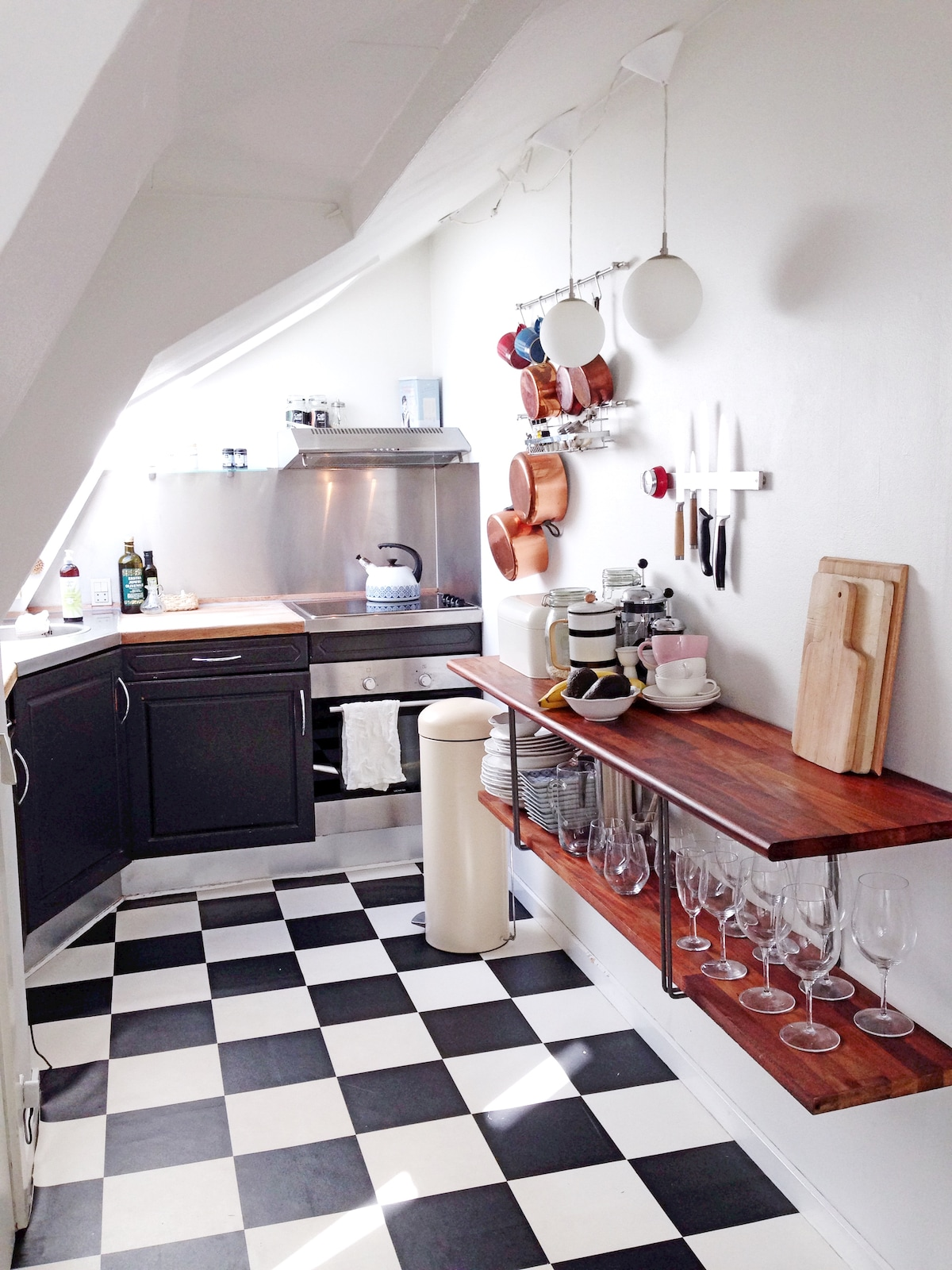 Apartment with charm in Aarhus C